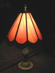 Scalloped Table Lamp